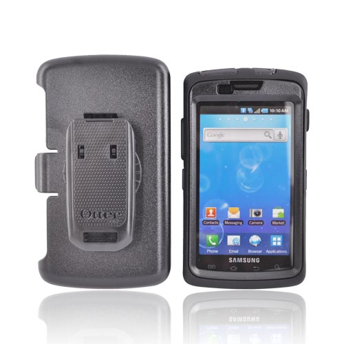 Original Otterbox Samsung Captivate i897 Hybrid Defender Series Case w/ Holster & Screen Protector, SAM2-CAPVA-20-E - Black
