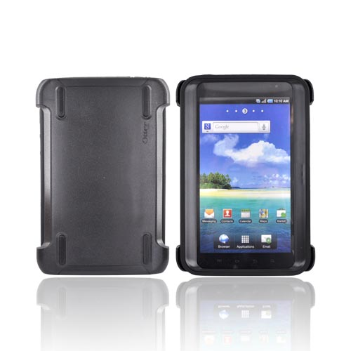 Original Otterbox Samsung Galaxy Tab 7.0 Hybrid Defender Series Case w/ Stand & Built-In Screen Protector, SAM2-GTAB7-20-E - Black