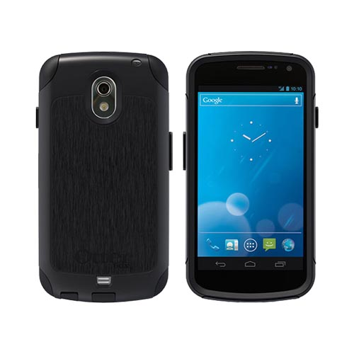 Original Otterbox Commuter Series Samsung Galaxy Nexus Dual Layer Hard Case w/ Screen Protector, SAM4-I515X-20-EOTR - Black