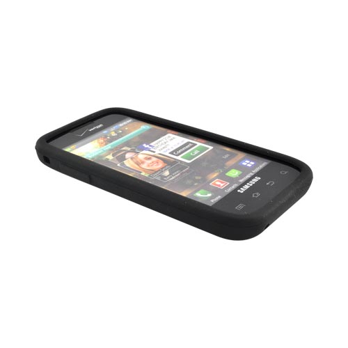 Original Verizon Samsung Fascinate i500 Silicone Case, SAMI500SILB - Black