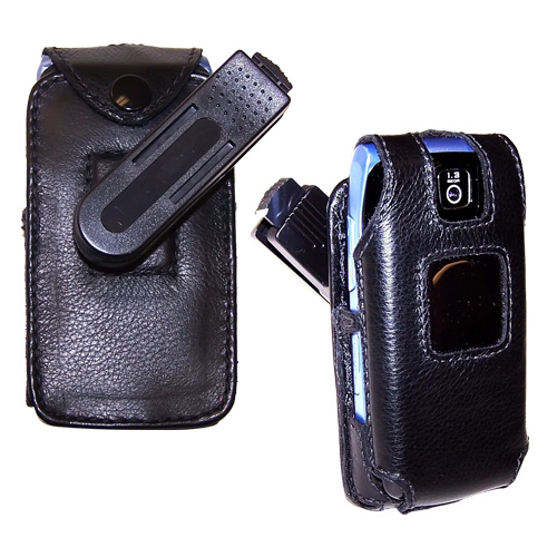 Original TurtleBack Premium Samsung T439 Leather Case w/ Swivel Belt Clip - Black