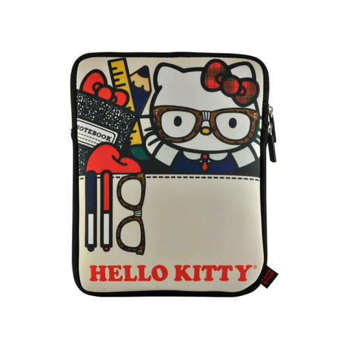 Nerd Stuff Hello Kitty Apple iPad (All Gen.) Neoprene Pouch Case