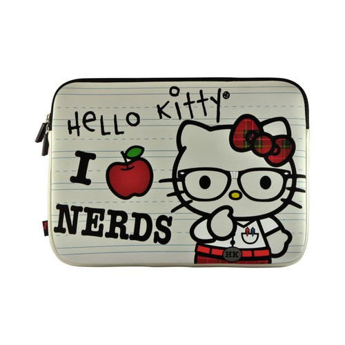 Hello Kitty I Love Nerds Apple MacBook Pro Neoprene Pouch Case