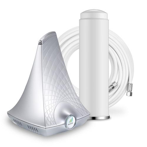 SureCall [Flare] Voice, Text & 4G LTE Cell Phone Signal Booster Kit [Homes up to 2,500 sq ft]