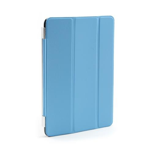 Light Blue Smart Protective Cover/ Stand for Apple iPad Mini