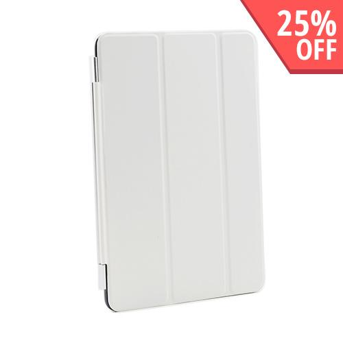 Cream White Smart Protective Cover/ Stand for Apple iPad Mini