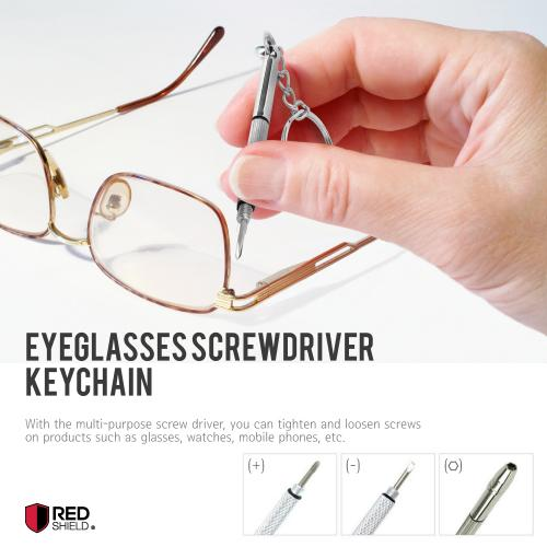 4 in 1 Eyeglasses Screwdriver Tool - Perfect For on the Go!