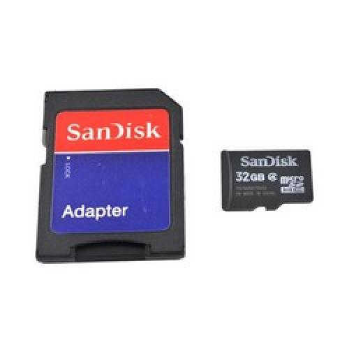 Manufacturers SanDisk 32GB Mobile microSDHC Card Hard Cases