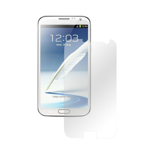 Anti-Finger Print Anti-Microbial Premium Screen Protector for Samsung Galaxy Note 2 (2 Pack)