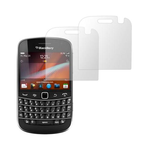 Premium Blackberry Bold 9900,9930 Anti-Gloss Screen Protector (2 Pack)