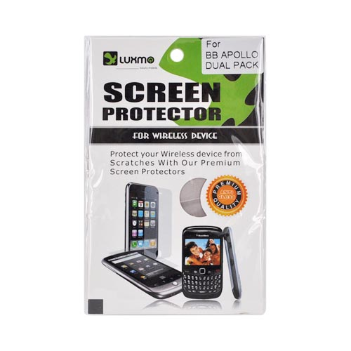 Premium Blackberry Apollo Anti-Gloss Screen Protector (2 Pack)