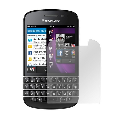 Anti-Glare Screen Protector for Blackberry Q10