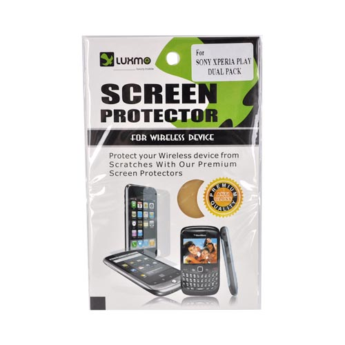 Premium Sony Ericsson Xperia Play Anti-Glare Screen Protector (2 Pack)