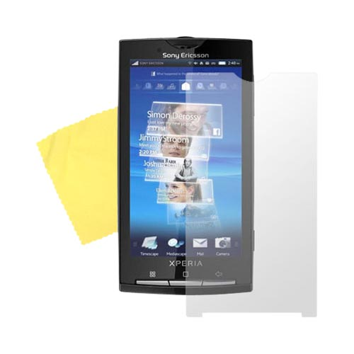 Sony Ericsson Xperia X10 Anti-Glare Screen Protector