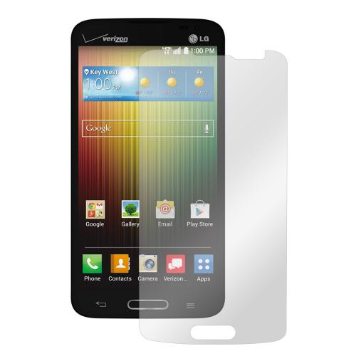 Clear LG Lucid 3 Anti-Glare Touch Screen Protector - Great Way To Prevent Glare!