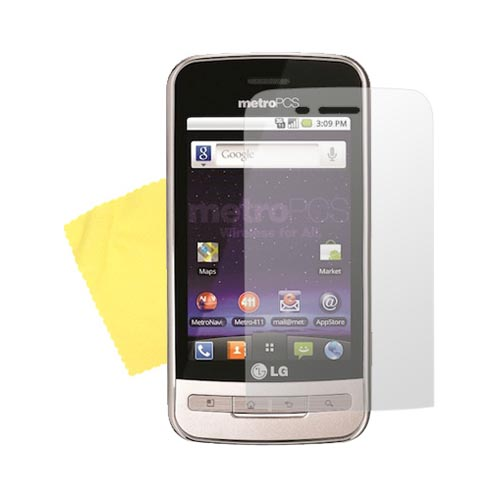 LG Optimus M MS690 Anti-Glare Screen Protector