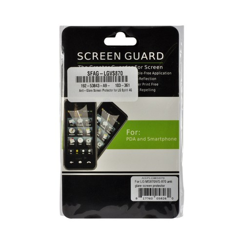Anti-Glare Screen Protector for LG Spirit 4G (MetroPCS)