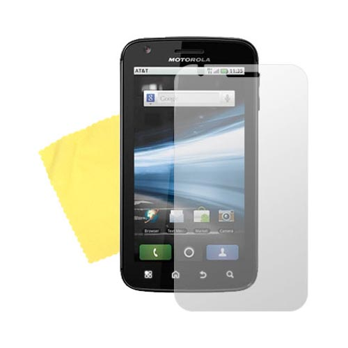 Motorola Atrix 4G Anti-Glare Screen Protector