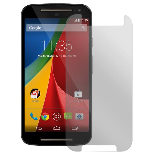 Moto G 2014 Screen Protector, [Anti-Glare] High Definition Precision-Cut Screen Protector for Motorola Moto G 2014 (2014)