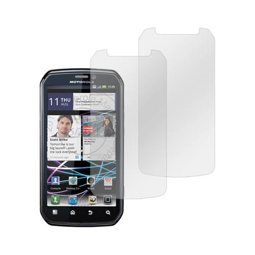 Premium Motorola Photon 4G Anti-Gloss Screen Protector (2 Pack)