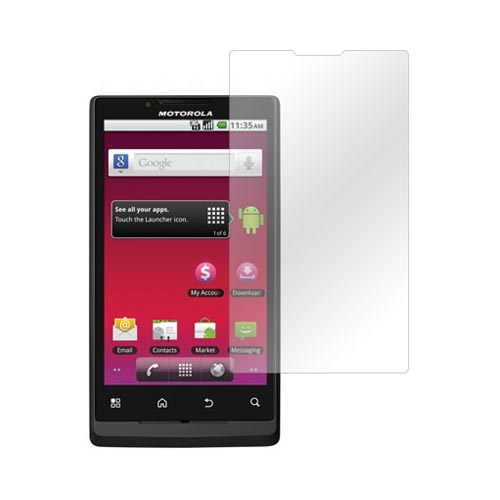 Premium Motorola Triumph Anti-Glare Screen Protector