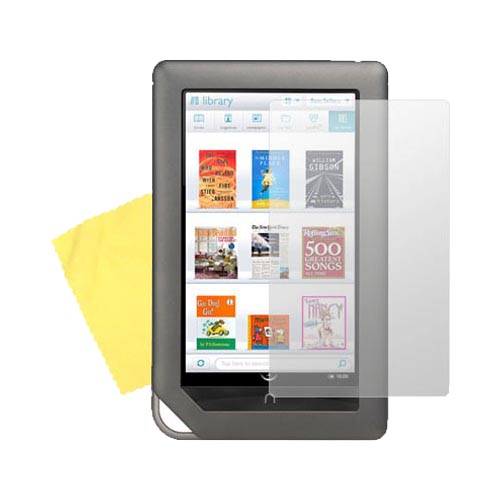 Barnes Nobles Nook Color eBook Anti-Glare Screen Protector