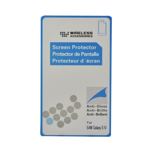Anti-Glare Screen Protector for Samsung Galaxy S4