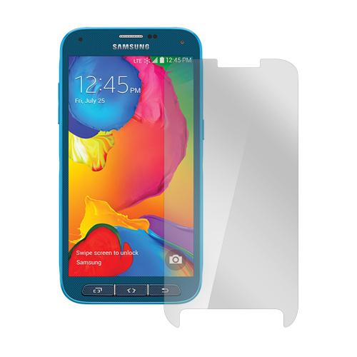 Clear Samsung Galaxy S5 Sport Anti-Glare Touch Screen Protector - Great Way To Prevent Glare!