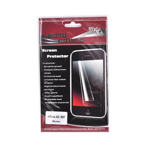 Samsung Infuse 4G i997 Anti-Glare Screen Protector