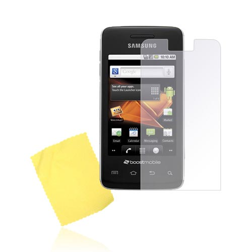 Samsung Galaxy Prevail M820 Anti-Glare Screen Protector