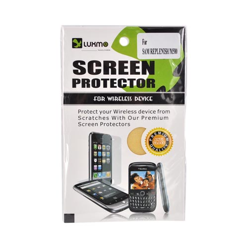 Premium Samsung Replenish M580 Anti-Gloss Screen Protector - Clear