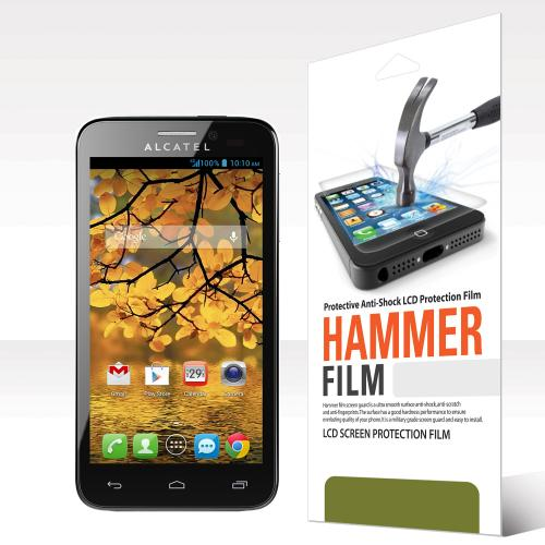 RED SHIELD High Definition Ultra Premium Hammer Strength Clear Screen Protector for Alcatel One Touch Fierce