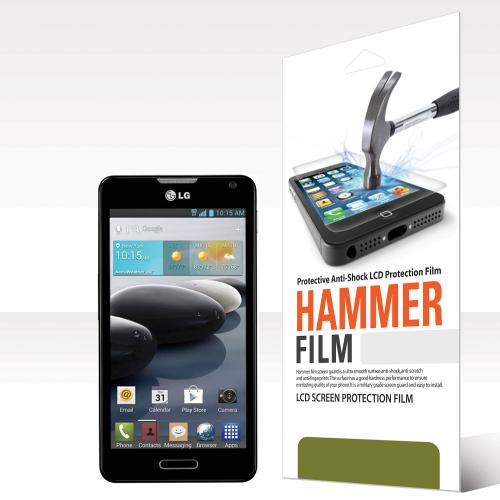 RED SHIELD High Definition Ultra Premium Hammer Strength Clear Screen Protector for LG Optimus F6