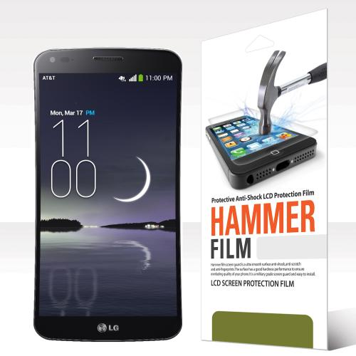 RED SHIELD High Definition Ultra Premium Hammer Strength Clear Screen Protector for LG G Flex