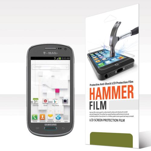 RED SHIELD High Definition Ultra Premium Hammer Strength Clear Screen Protector for Samsung Galaxy Exhibit