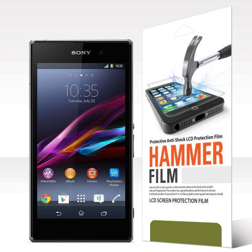 RED SHIELD High Definition Ultra Premium Hammer Strength Clear Screen Protector for Sony Xperia Z1