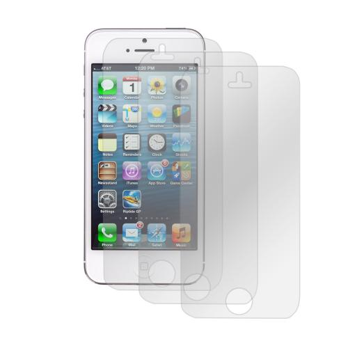 Clear Premium Anti-Shock 3-Pack Screen Protectors for Apple iPhone 5