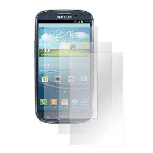 Clear Premium Anti-Shock 3-Pack Screen Protectors for Samsung Galaxy S3
