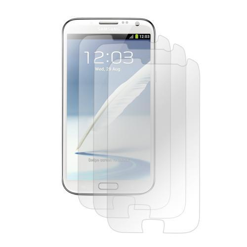 Clear Premium Anti-Shock 3-Pack Screen Protectors for Samsung Galaxy Note 2