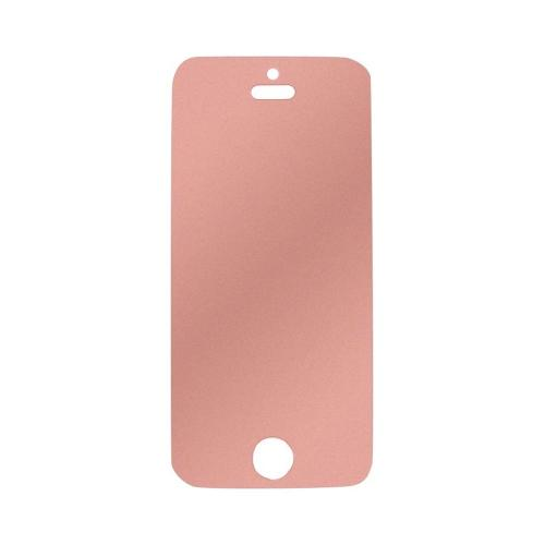 Screen Protector w/ Orange Tint Glitter Effect for Apple iPhone 5/5S/5C