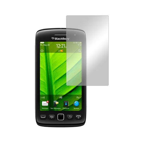 Premium Blackberry Torch 9850 Screen Protector w/ Mirror Effect
