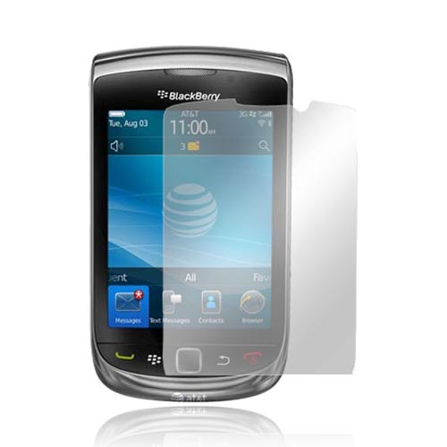 Blackberry Torch 9800 Screen Protector w/ Mirror Effect