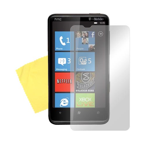 HTC HD7 / HTC HD7s Screen Protector w/ Mirror Effect