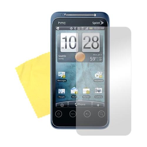 HTC EVO Shift 4G Screen Protector w/ Mirror Effect