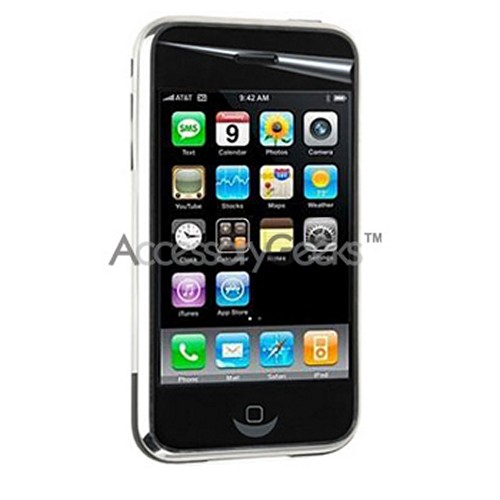 Premium Apple iPhone 3G High Definition Screen Protector w/ Mirror Effect