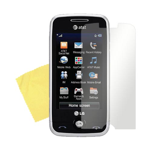 LG Prime GS390 High Quality Screen Protector w/ Mirror Effect