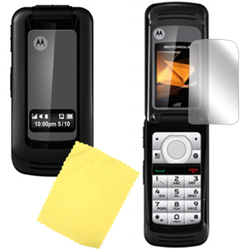 Motorola i410 High Quality Screen Protector w/ Mirror Effect
