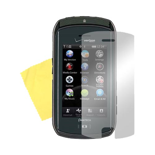 Pantech Crux Screen Protector w/ Mirror Effect