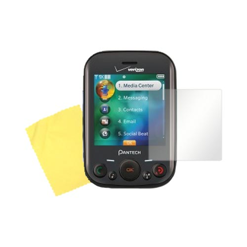 Pantech Jest Screen Protector w/ Mirror Effect