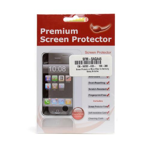 Screen Protector w/ Mirror Effect for Samsung Galaxy S4 Active